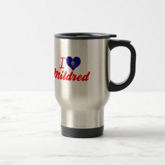 I Love Mildred, Kansas Mugs