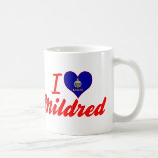 I Love Mildred, Kansas Coffee Mugs