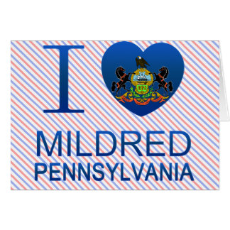 I Love Mildred, PA Card
