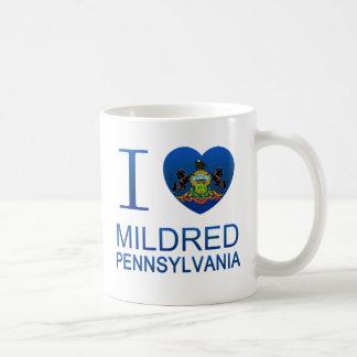 I Love Mildred, PA Mugs