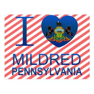 I Love Mildred, PA Postcards