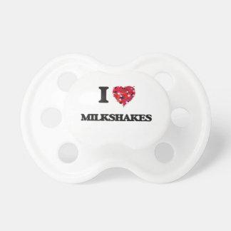 I love Milkshakes Pacifiers