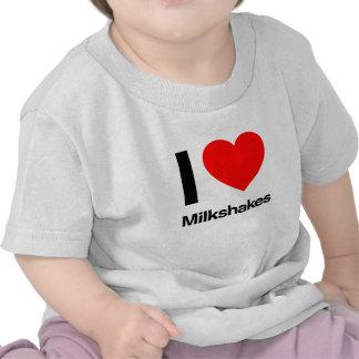 i love milkshakes tees