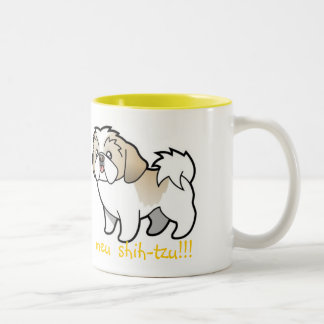 I Love, Mine shih-tzu Coffee Mugs
