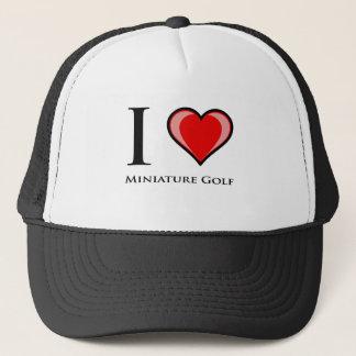 I Love Miniature Golf Trucker Hat