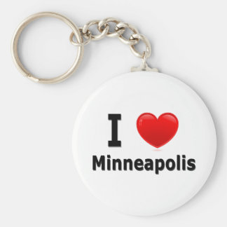 I Love Minneapolis Key Ring
