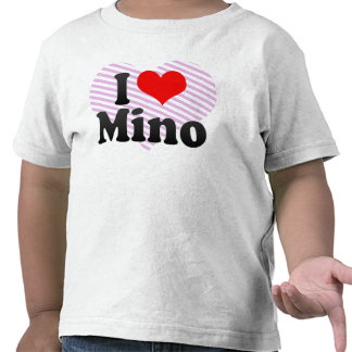 I Love Mino, Japan T-shirts