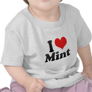 I Love Mint Tee Shirt