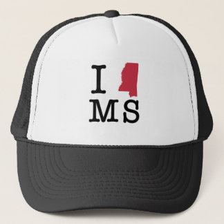 I Love Mississippi Trucker Hat
