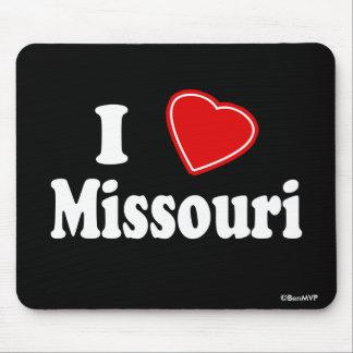 I Love Missouri Mouse Pad