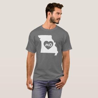 I Love Missouri State Men's Basic Dark T-Shirt