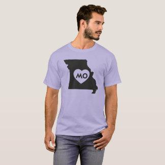 I Love Missouri StateMen's Basic Dark T-Shirt