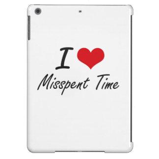 I Love Misspent Time iPad Air Case