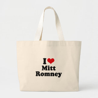 I LOVE MITT ROMNEY CANVAS BAG