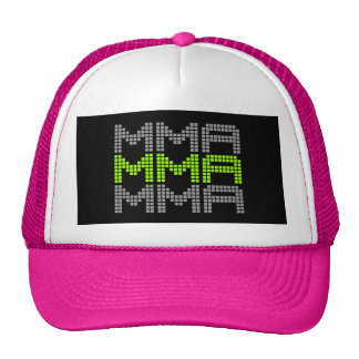 I Love Mixed Martial Arts and Fighting v02, Silver Trucker Hat