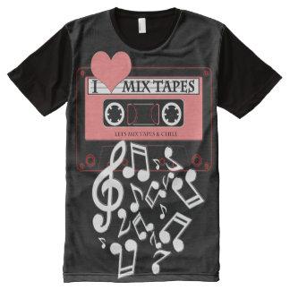 I Love MixTapes II All-Over Print T-Shirt
