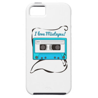 I Love Mixtapes iPhone 5 Cases