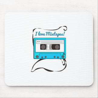 I Love Mixtapes Mousepads