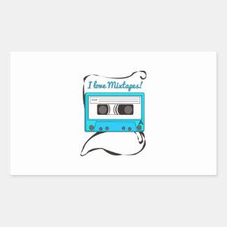 I Love Mixtapes Stickers