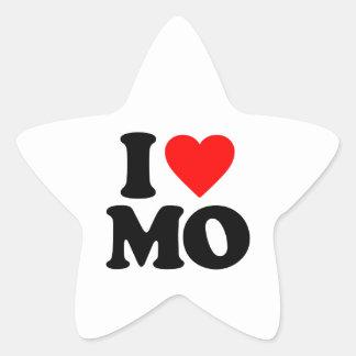 I LOVE MO STAR STICKERS