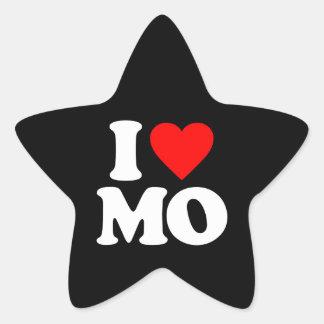 I LOVE MO STICKERS
