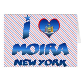 I love Moira, New York Greeting Card