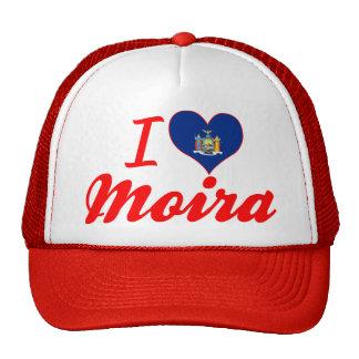 I Love Moira, New York Trucker Hat