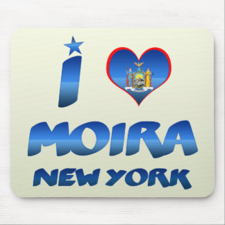 I love Moira, New York Mouse Pads