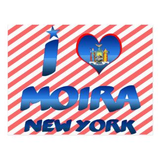 I love Moira, New York Postcards