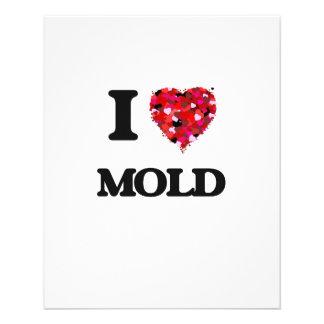 I Love Mold 11.5 Cm X 14 Cm Flyer