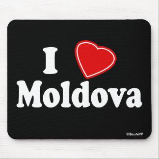 I Love Moldova Mouse Pad