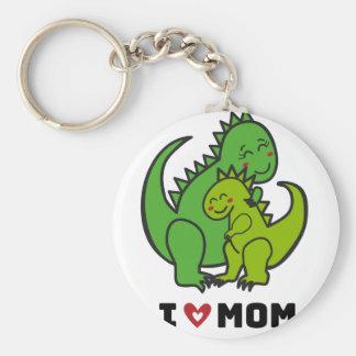 I Love Mom.ai Key Ring
