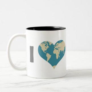 I Love Mom Coffee Mug