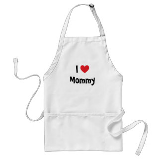 I Love Mommy Apron