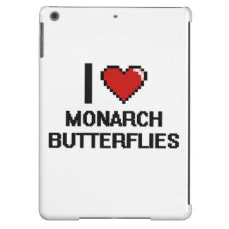 I love Monarch Butterflies Digital Design Case For iPad Air