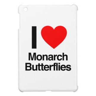 i love monarch butterflies iPad mini cover