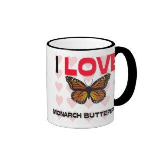 I Love Monarch Butterflies Coffee Mug