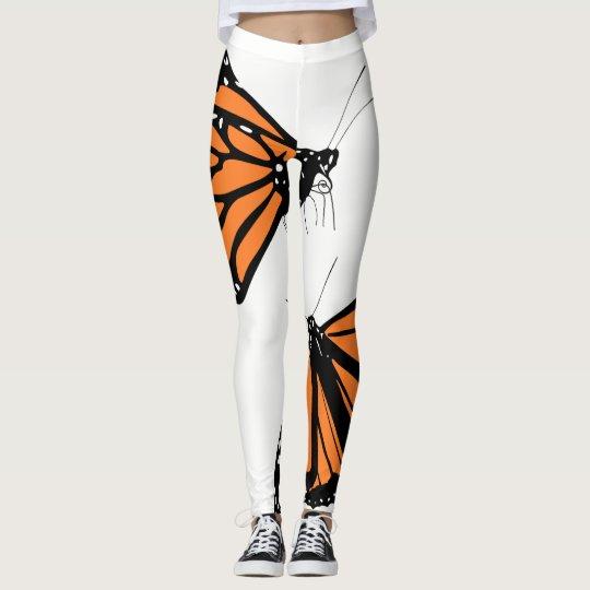 I love monarchs! leggings