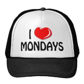 I Love Mondays Cap