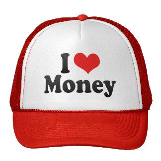I Love Money Hat