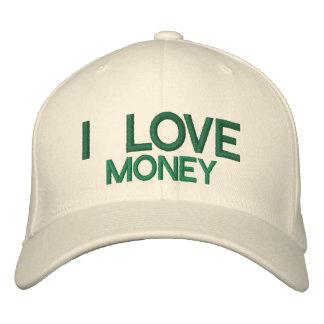I LOVE MONEY - Custom Baseball Cap