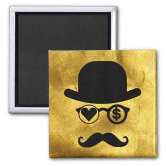 I Love Money Magnet Mustache