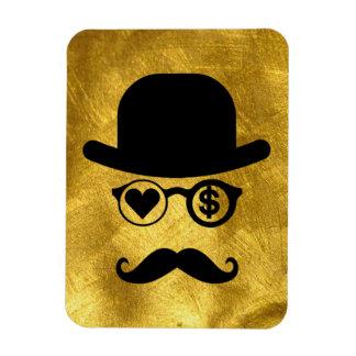 I Love Money Mustache London City Magnet