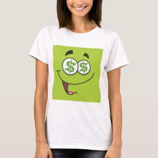 I Love Money Square Emoji T-Shirt