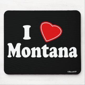 I Love Montana Mouse Pads