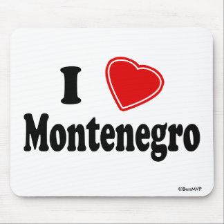 I Love Montenegro Mouse Pad
