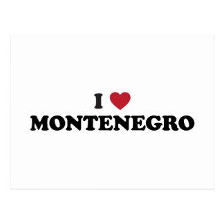 I Love Montenegro Postcard