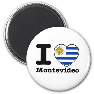 I love Montevideo Magnet
