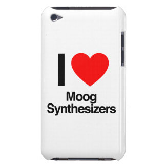 i love moog synthesizers iPod touch covers
