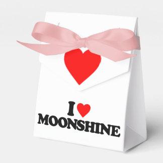 I LOVE MOONSHINE FAVOR BOXES